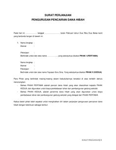 Image result for contoh surat rasmi surat kebenaran baksis pinterest surat perjanjian by nur hudda elhasani via slideshare spiritdancerdesigns Images