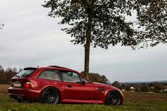 BMW Z3 M Coupe red