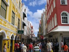 Shopping in Willemstad, Curacao Travel Around The World, Around The Worlds, Willemstad, Amazing Places, Places Ive Been, The Good Place, Caribbean, Street View, The Incredibles