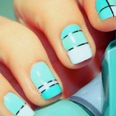 Cool nail design!! clothes