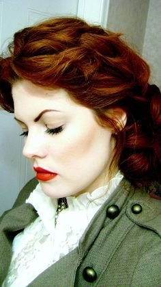Love this red hair