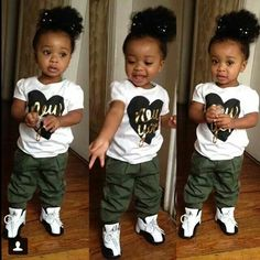 3fe84a696 Cute Kids, Cute Boys. SneakerHeddz · Babies got SWAG too!!! Babies in  Jordan's!!