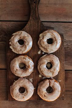 Yummy Recipes and Photos - Pumpkin Spice Doughnuts by (pastryaffair) Best Homemade Doughnut Recipe, Donut Recipes, Cooking Recipes, Homemade Donuts, Coffee Recipes, Köstliche Desserts, Delicious Desserts, Dessert Recipes, Yummy Food