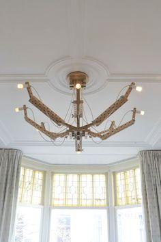Arend Groosman 24 mm chandelier is een transformable Dutch design kroonluchter ♥ Officiële dealer ♥ Gratis verzending ♥ 14 dagen retourrecht ☎ +31302540811