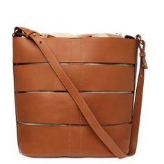 Bucket Bag Tiras & Linho