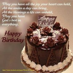 Birthday Cake Quotes For Friends Happy Birthday Prayer, Happy Birthday Wishes Photos, Happy Birthday Ecard, Birthday Wishes Greetings, Happy Birthday Cake Images, Happy Birthday Beautiful, Happy Birthday Friend, Birthday Blessings, Best Birthday Wishes