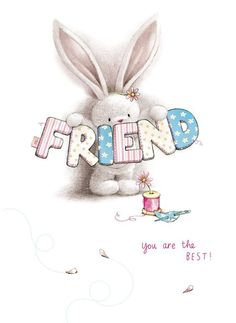 Best Unique Gifts And Gift Ideas For Rabbit Lovers And Bunny Owners Bunny Art, Cute Bunny, Cute Images, Cute Pictures, Decoupage, Blue Nose Friends, Love Hug, Tatty Teddy, Animal Illustrations