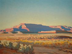 Steven Stern Fine Arts Painting by Maynard Dixon Art And Illustration, Maynard Dixon, Southwestern Art, Desert Art, Native American Art, Portraits, Landscape Art, Sculpture, Unique Art