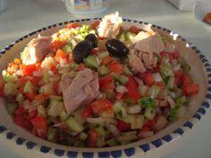 100% Tunisienne: Recette de salade Tunisienne