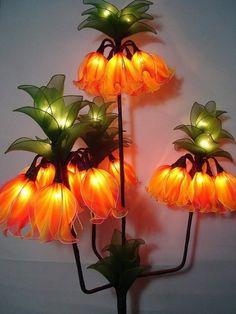 Lámparas Únicas y la belleza de la flor párr Su Hogar | Haz Hecho A Mano, ganchillo,