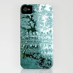 morning frost iphone cover