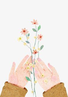 Drawing hand holding rose Ideas for 2019 Watercolor Art, Illustration, Drawings, Painting, Cute Art, Art, Art Wallpaper, Beautiful Art, Aesthetic Art