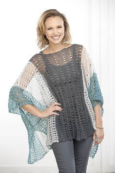 Summer Poncho Pattern