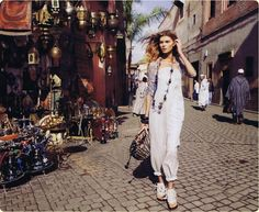 Ginger, chocolate and Honey...: Marrakech Moment:US Harper's Bazaar March 2010 issue