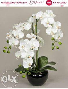 sztuczny kwiat w doniczce - Szukaj w Google Orchids Painting, China Painting, Sandrinha, Orchid Flower Arrangements, Artificial Orchids, Orchards, White Orchids, Ikebana, Flower Art