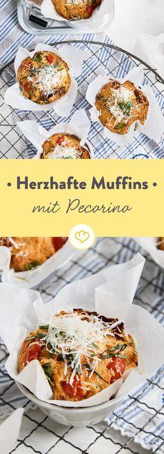 [Anzeige] Süß war gestern. Back herzhafte Muffins mit Pecorino und Tomaten [In Kooperation mit Maggi]