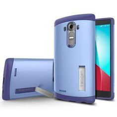 LG G4 Kılıf, Spigen Slim Amor - Violet