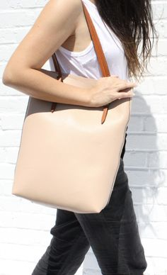 A summer tote that goes with any outfit!