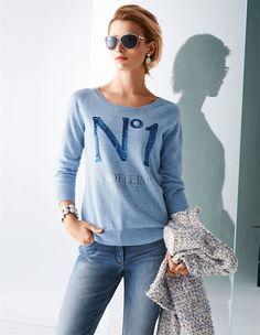 Ein Pullover, der eine klare Aussage trifft und uns kuschlig durch die kühle Jahreszeit begleitet.