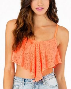 How To sewing pattern Crop Top rayon