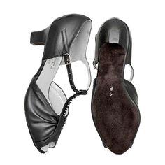 78c58b3d1812 Freed Ladies Wide fitting Topaz Ballroom Shoes. Ladies black leather Topaz  wide fitting ballroom shoe