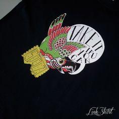 #tshirt #new #summer #2013 #madeinitaly #fashion #linkshirt #parrot #man #black #tshirts #sdolzini #takeit