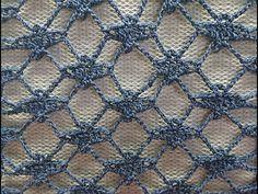 So beautiful for a blouse!!!!PONTO FANTASIA VAZADO DE 2 CARREIRAS INTERCALADO HD 720p - YouTube Crochet Skirt Outfit, Crochet Lace Scarf, Crochet Cowl Free Pattern, Irish Crochet, Crochet Motif, Crochet Stitches, Crochet Baby, Free Crochet, Knitting Patterns