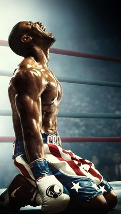 A mashup trailer of the year's filmography, A Year in Film 2018 is a showcase of cinema - good, bad, and ugly. Dope Wallpapers, Sports Wallpapers, Boxe Fight, Michael Bakari Jordan, Stallone Rocky, Creed Movie, Boxing Posters, Bon Film, The Best Films