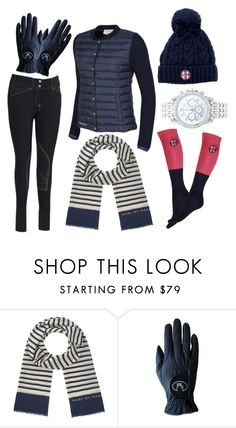 """""""navy winter edit"""" by eqlmag on Polyvore featuring Marc by Marc Jacobs, Roeckl, Lane Bryant, scarf, equestrian and EQLMAG"""