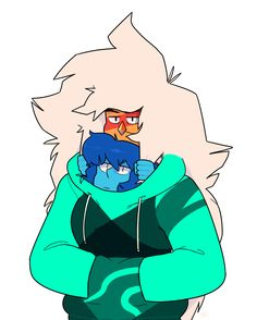 """""""hoodies are just a cheap tactic to make cute gems cuter"""""""