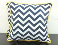 blue and yellow cushions - Google Search