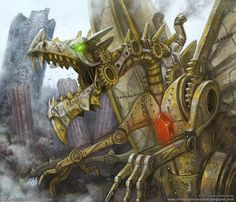 Clockwork Dragon. Christopher Burdett