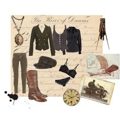 Casual Steampunk--I consider this to be a look I'd wear if i had somewhere fun to go.