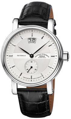 Mühle-Glashütte Teutonia II Großdatum Chronometer Watch