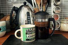 a home coffee set-up