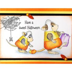 New House Mouse stamps at Stampendous!