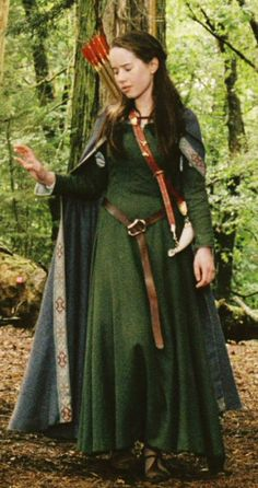 Chronicles of Narnia ~ Susan's Archery Dress