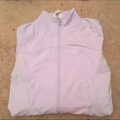 Lulu Lemon zip up ! light purple lulu lemon zip up. super warm. does have a few spots where it looks a bit fading, but they're practically invisible when wearing. price negotiable lululemon athletica Tops Sweatshirts & Hoodies