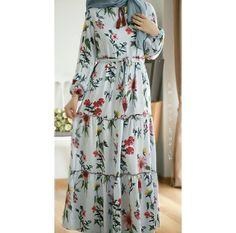 Modest Fashion Hijab, Hijab Style Dress, Modern Hijab Fashion, Islamic Fashion, Abaya Fashion, Muslim Fashion, Dress Outfits, Fashion Dresses, Hijab Evening Dress