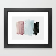 Minimalism 4 Framed Art Print by Iris Lehnhardt - Vector Black - Framed Wall Art, Framed Art Prints, Fine Art Prints, Minimalist Home Decor, Minimalist Art, Abstract Wall Art, Wall Art Designs, Vintage Pictures, Artwork Prints