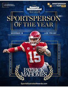 Sports Illustrated Covers, City Pride, Kansas City Chiefs Football, Sports Awards, Football Helmets, Football Stuff, Champs, Nfl