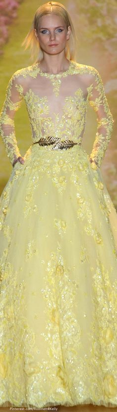 """Zuhair Murad Haute Couture   S/S 2014 ❁❁❁Thanks, Pinterest Pinners, for stopping by, viewing, pinning, & following my boards. Have a beautiful day! ❁❁❁ **<>**✮✮""""Feel free to share on Pinterest""""✮✮"""" #gifts www.fashionandclothingblog.com"""