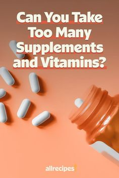 """Can Vitamins and Supplements Prevent Coronavirus? And Can You Take Too Much?   """"Vitamins and supplements can be a helpful addition to boost the immune system in times of need. Though taking too many, or the wrong kind, can do serious damage, especially in relation to COVID-19, for which there is no current cure or means of prevention."""" #healthyrecipes #healthycookingideas #dietrecipes #healthyfoods #lightrecipes #weightlossrecipes #weightlossfood"""