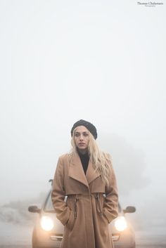 Photoshooting in foggy Parnitha mountain.