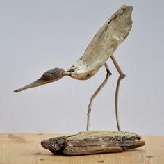 Driftwood wader - designed by Martin Teviotdale in Conwy, North Wales