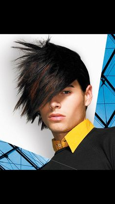 27 beautiful medium length hairstyles for men sensod funky hairstyles for men best mens hairstyles 2020 you must have nowadays … Emo Hairstyles For Guys, Guy Haircuts Long, Haircuts For Medium Hair, Stylish Haircuts, Boy Hairstyles, Men's Haircuts, Hairstyle Ideas, Futuristic Hair, Short Punk Hair