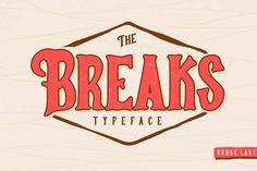 Breaks Typeface  @creativework247