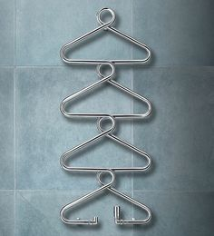 Antique Model S3 Red Bentwood Coat Rack by Thonet