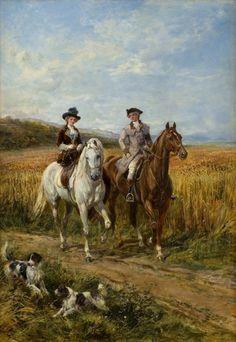 Heywood Hardy | The Morning Ride