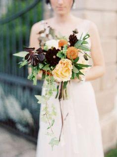 Flores de estilo otoñal para decorar tu boda: Las querrás tener en tu gran día Image: 10